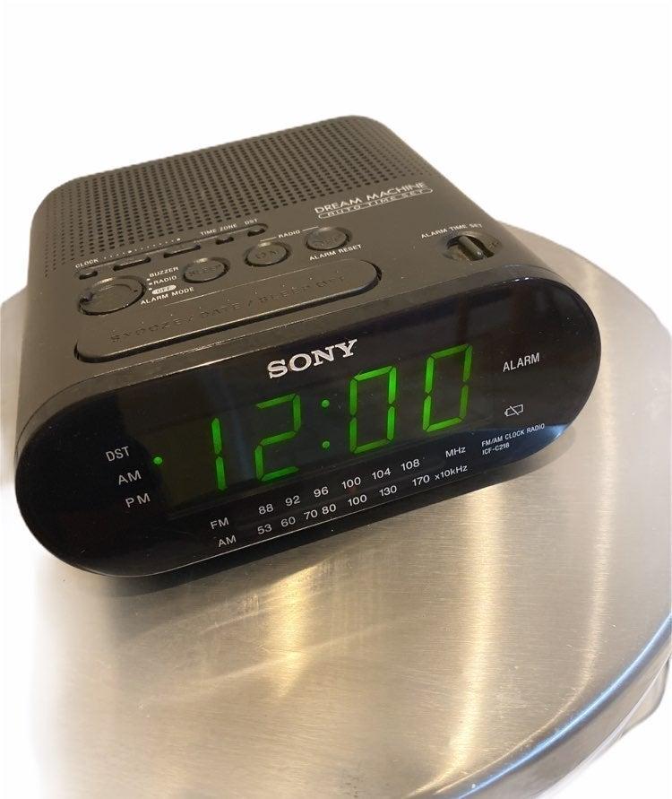 Sony Alarm Clock Dream Machine Radio