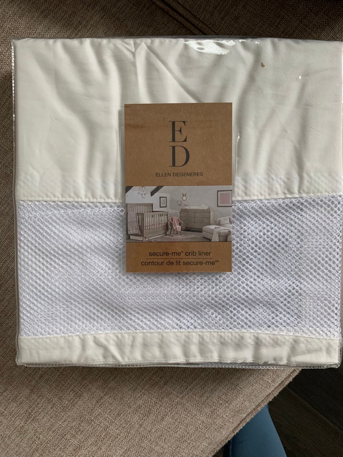 Crib liner brand new