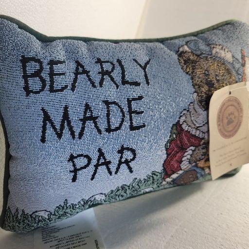 Bearly made par pillow boyds bear