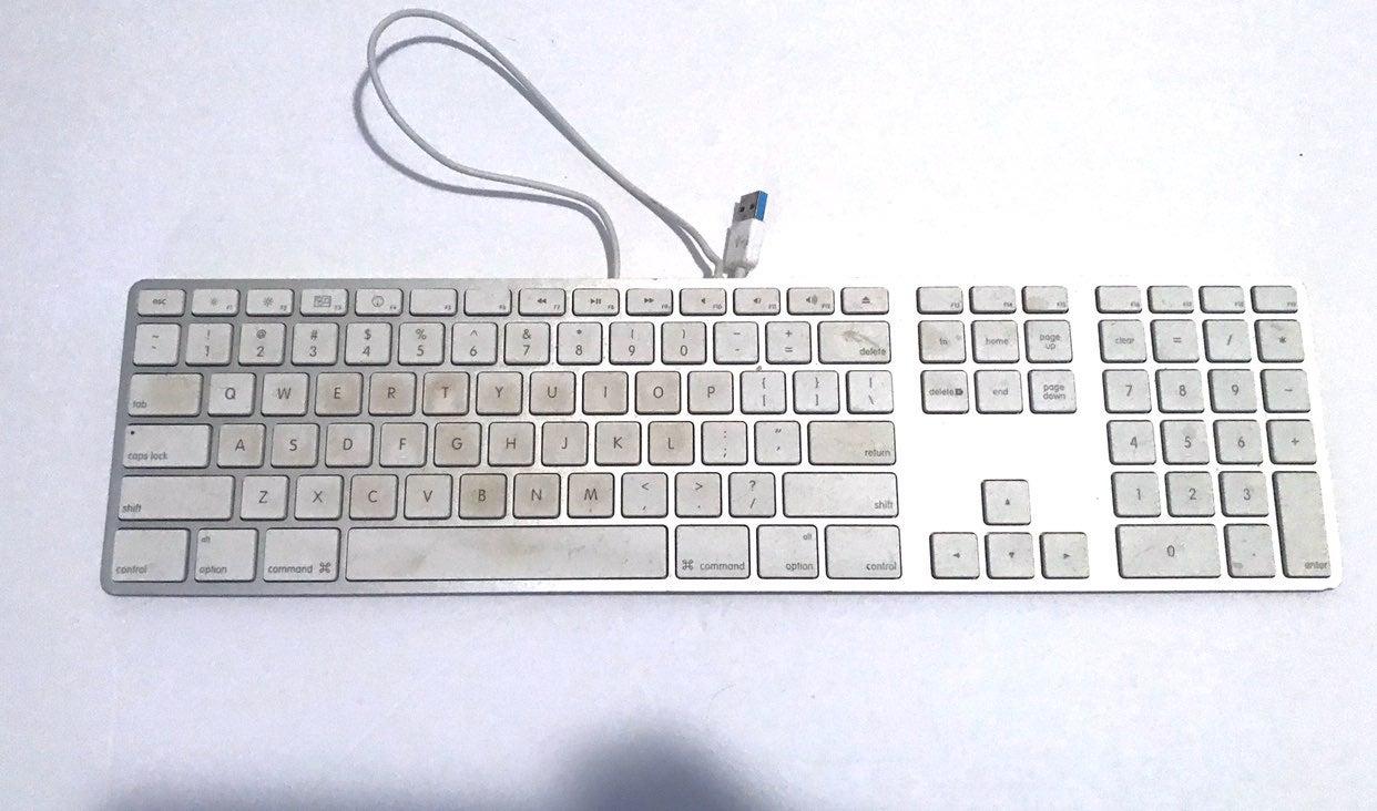 Apple keyboard 10 key flat