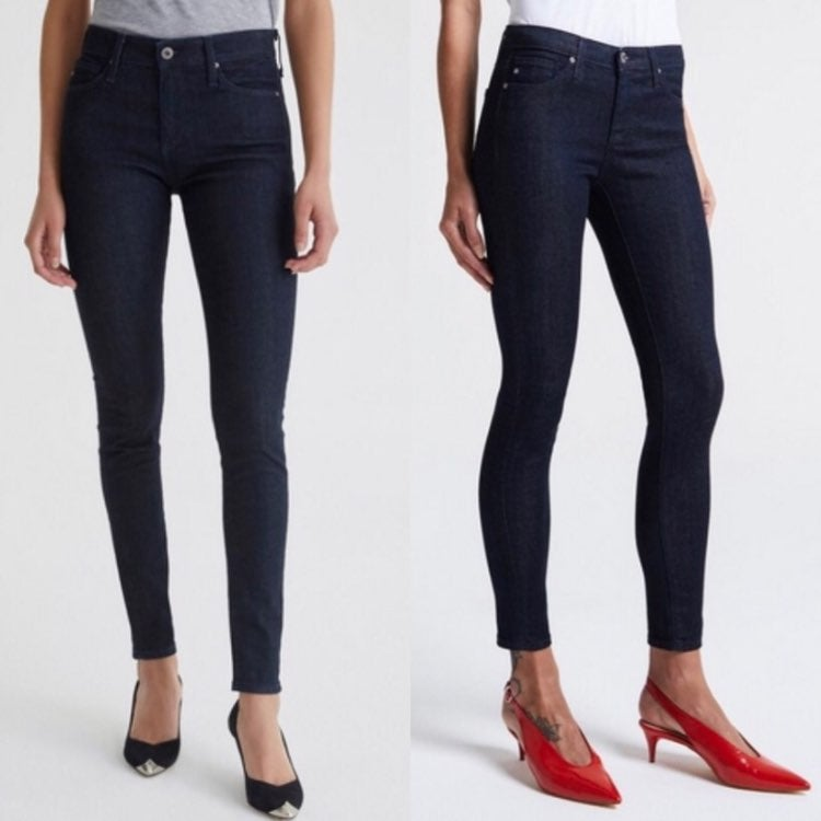 AG The Lux Ankle Ankle Pants Navy