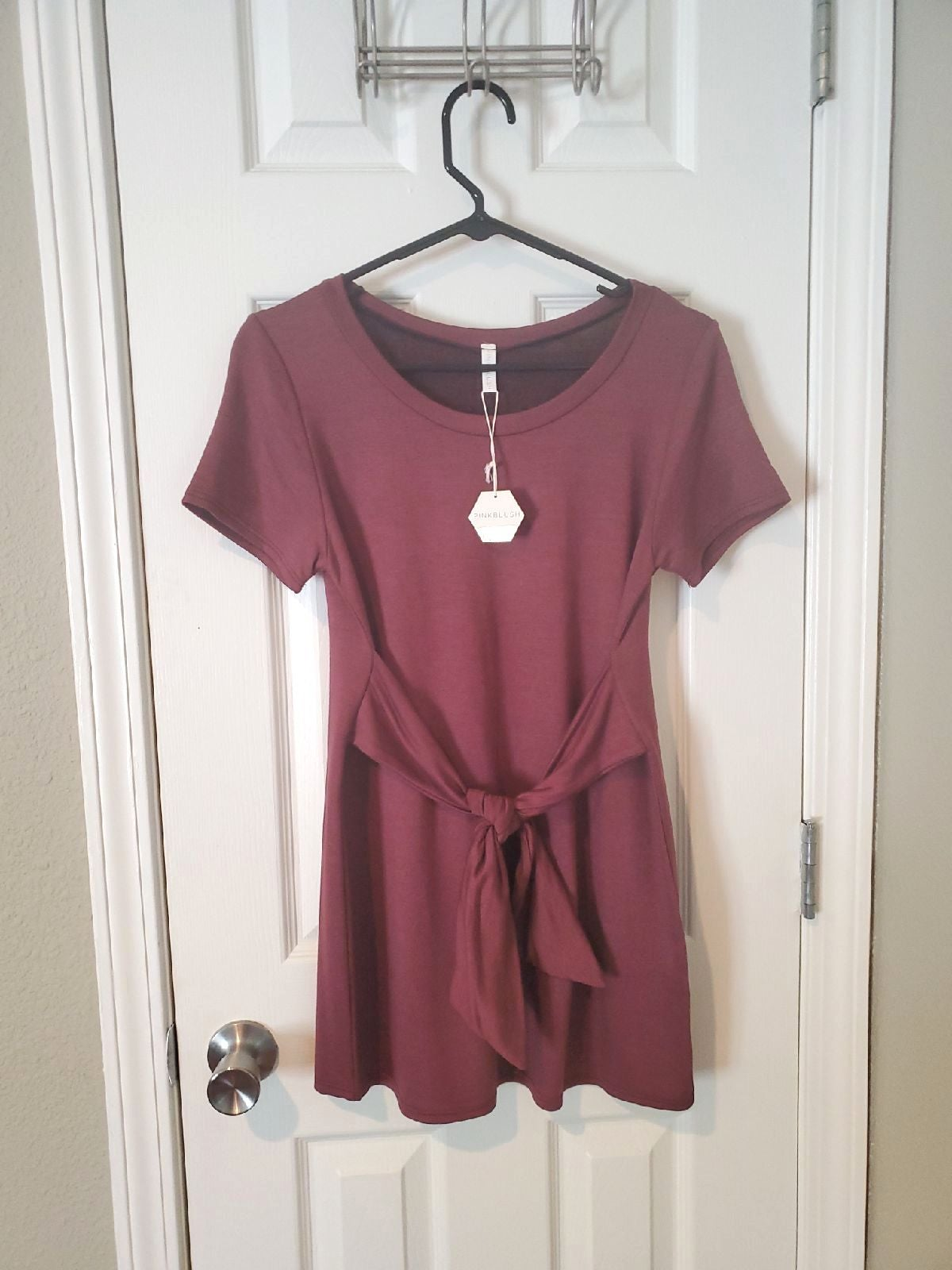 Pinkblush Small Red Short Sleeve Top