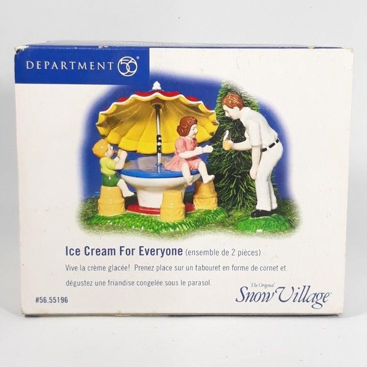Depart 56 Village Ice Cream For Everyone