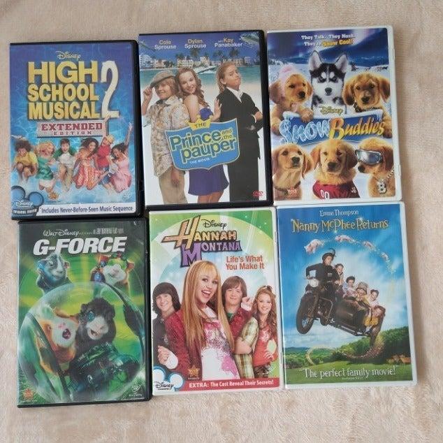 Disney Children's Family Movies Lot 6
