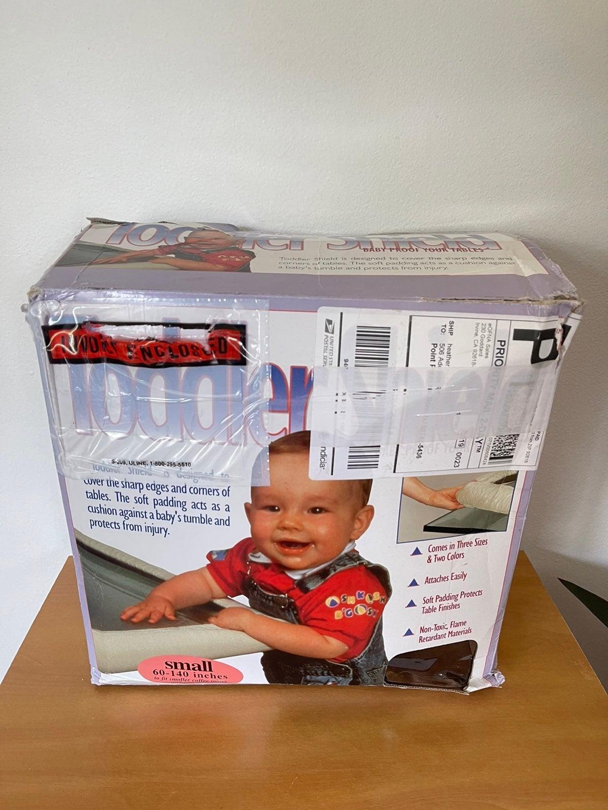 Toddler shield bumper