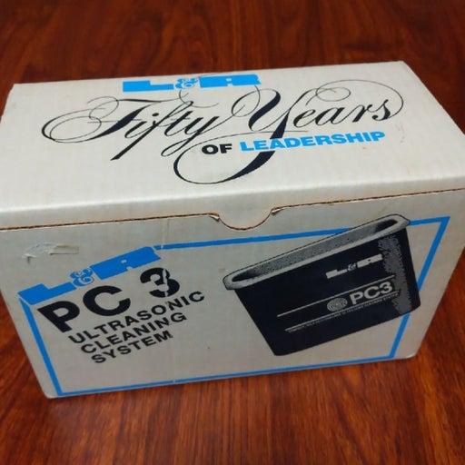 L&R PC3 ultrasonic PRO cleaner vintage.