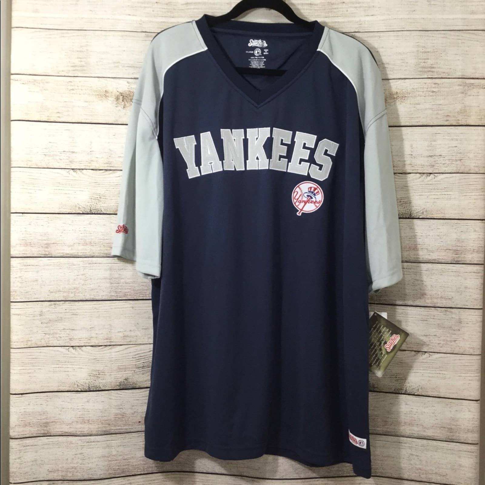 NEW Yankees Spell Out Jersey Size 2X