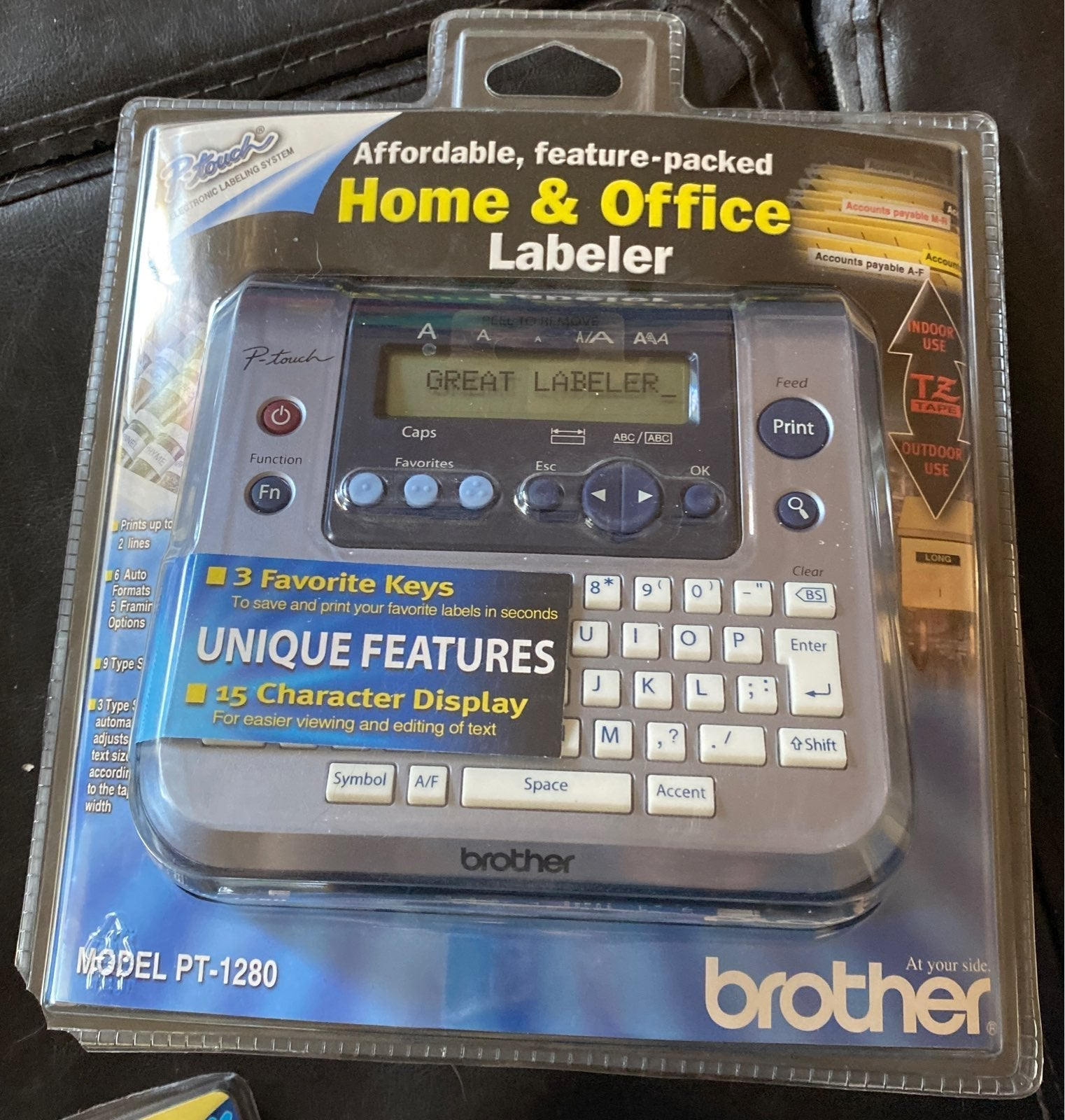 Brother P-Touch PT-1280 Labeler