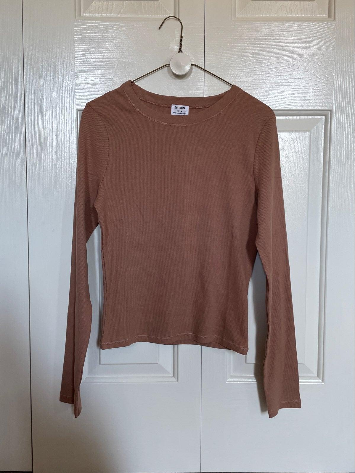 Cotton On Long Sleeve Shirt Medium