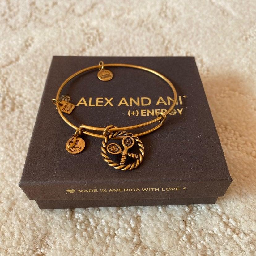 WITH BOX Alex and Ani Tennis Bracelet