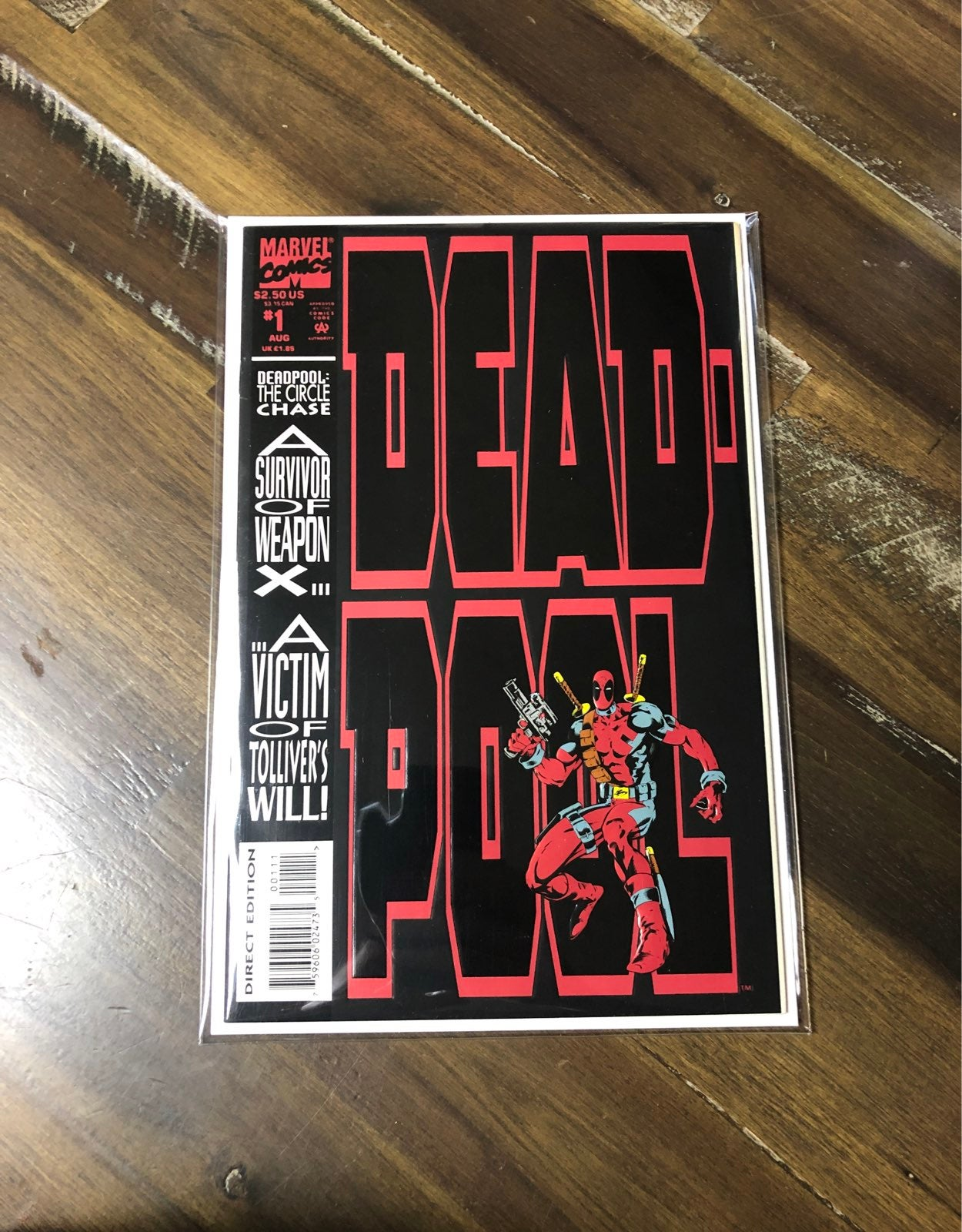 Deadpool circle chase nm