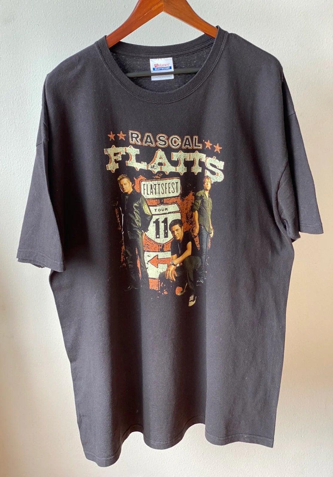 2011 Rascal Flatts Flattsfest Tour Shirt