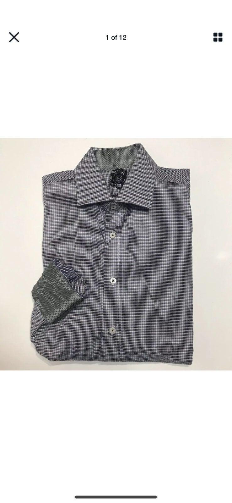 English Laundry Men Button Up Shirt 16.5