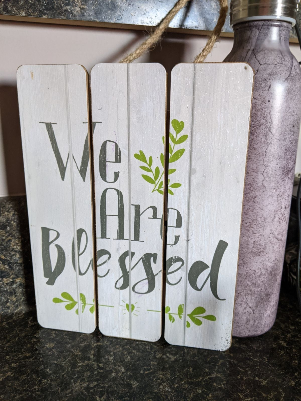 Rustic Farmhouse Wooden Sign