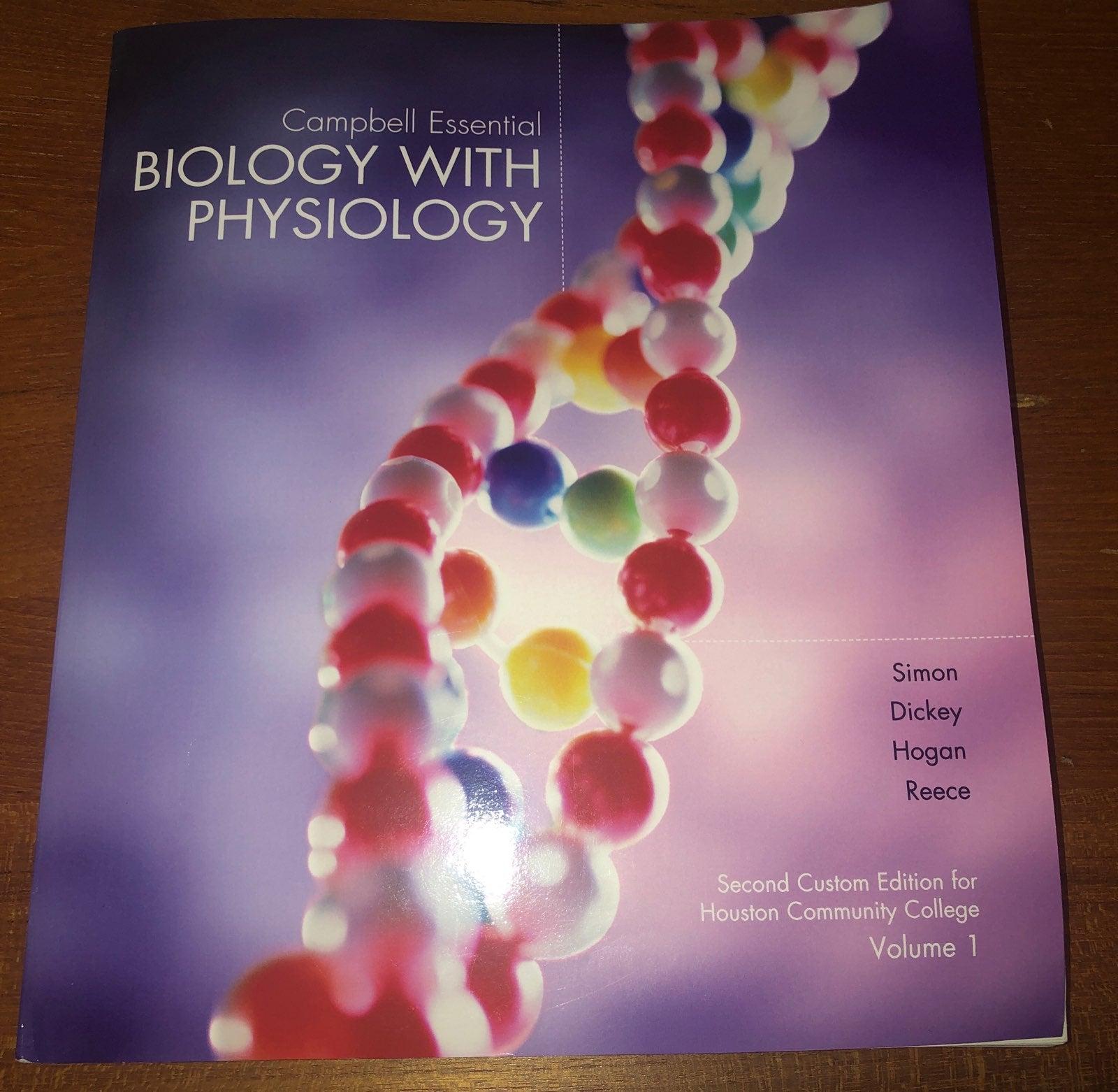 Campbell Essential Biology Textbook