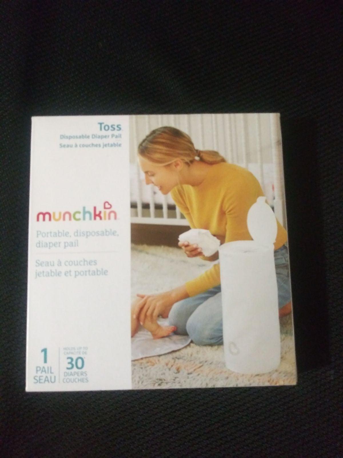 Munchkin Disposable diaper pail!