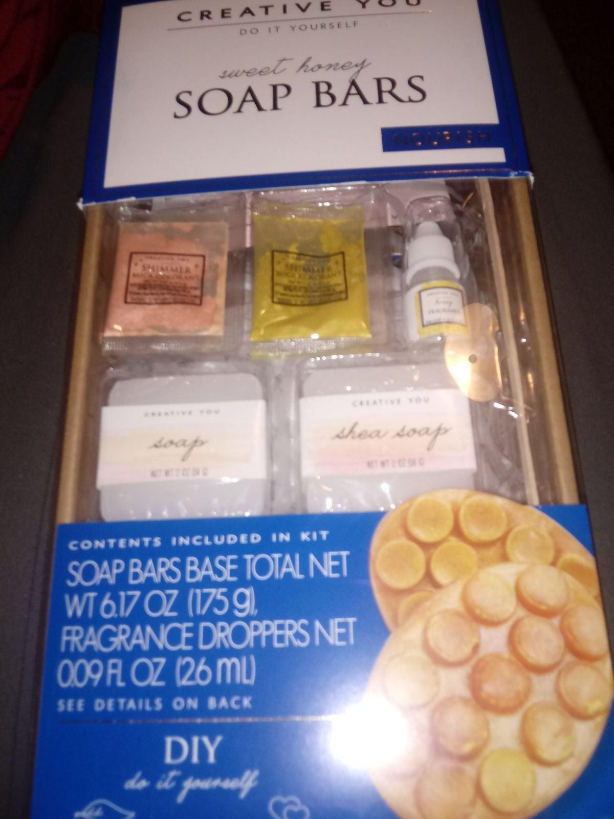 Creative you sweet honey soap bars