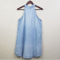 59841fb65f11 Cloth & Stone Halter Hi-neck Tank dress. Anthropologie