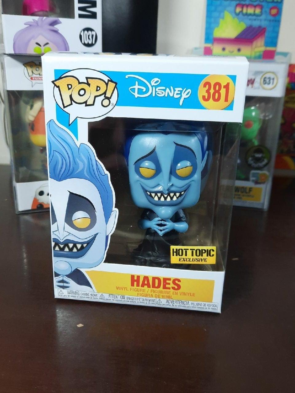 Hades Funko Pop 381 glow ht exc hercules