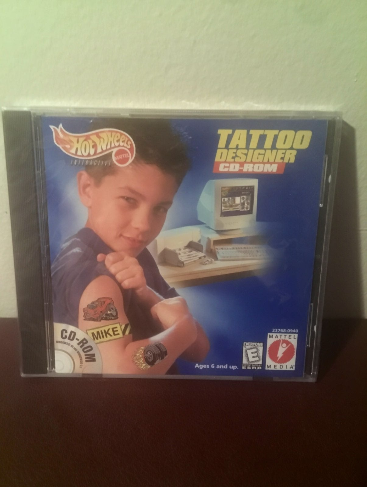 Hot Wheels TATTOO Designer CD-Rom 1999,