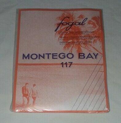 Fogal Montego Bay Pantyhose #117 Blue XS