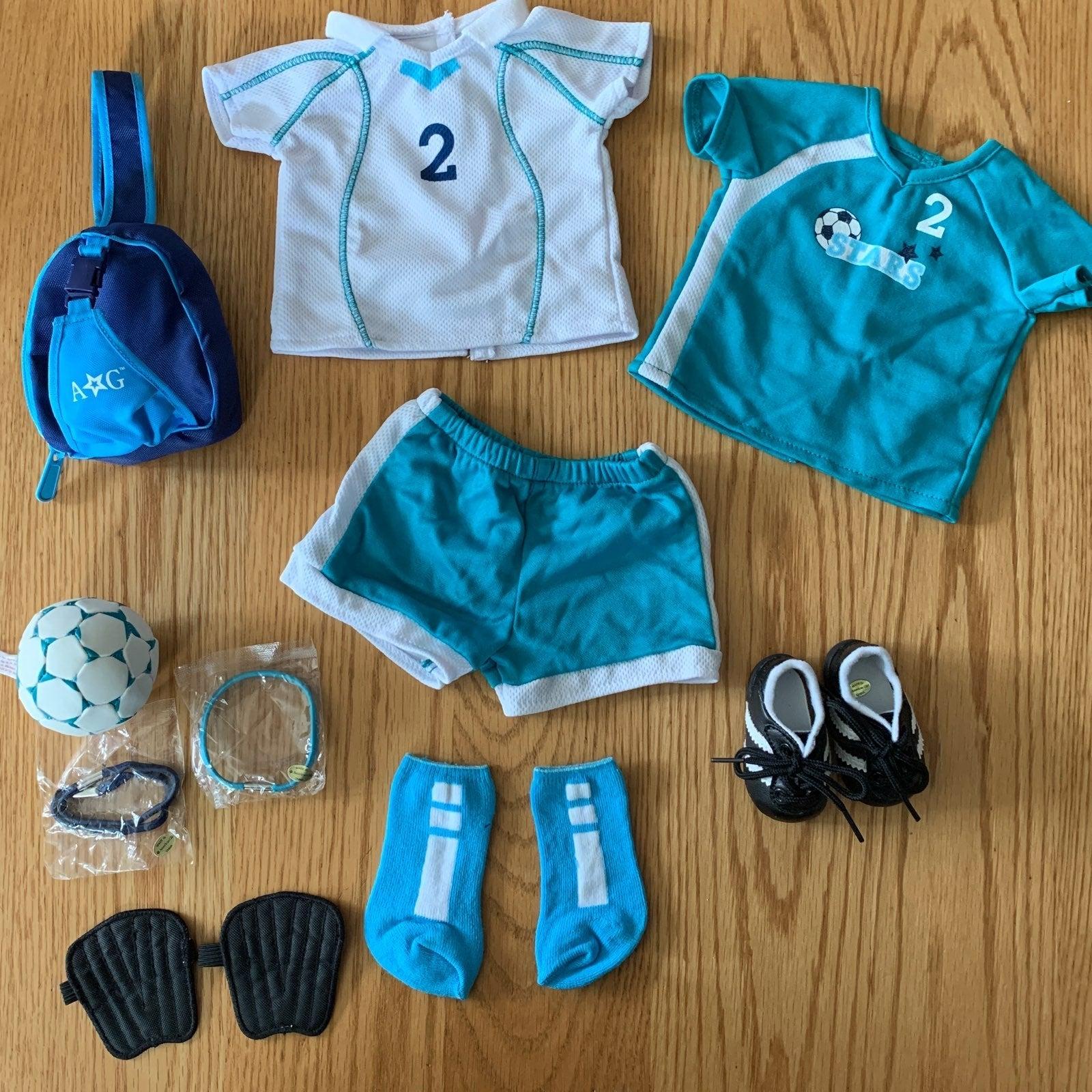 American Girl Doll Cloth All-Star Soccer