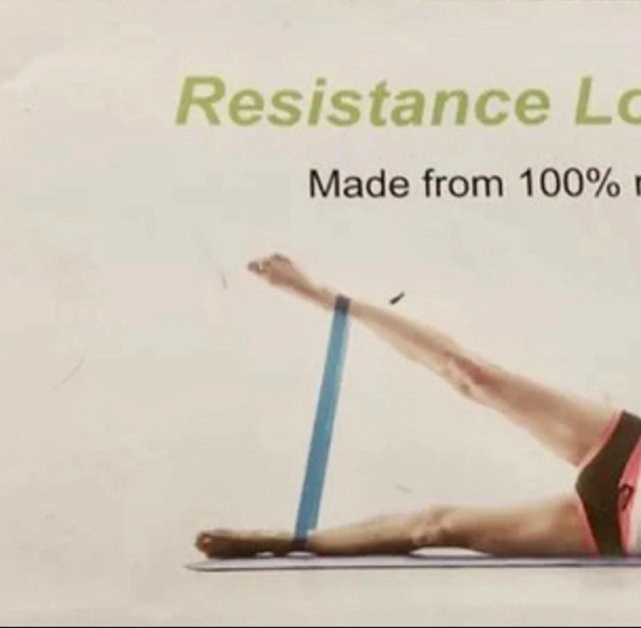 LetsFit Resistance Loop Bands Exercise N