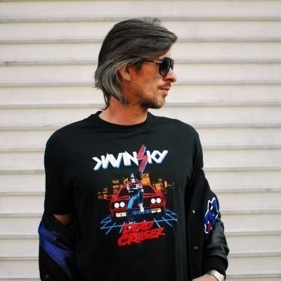 Kavinsky Dead Cruiser Graphic Tee