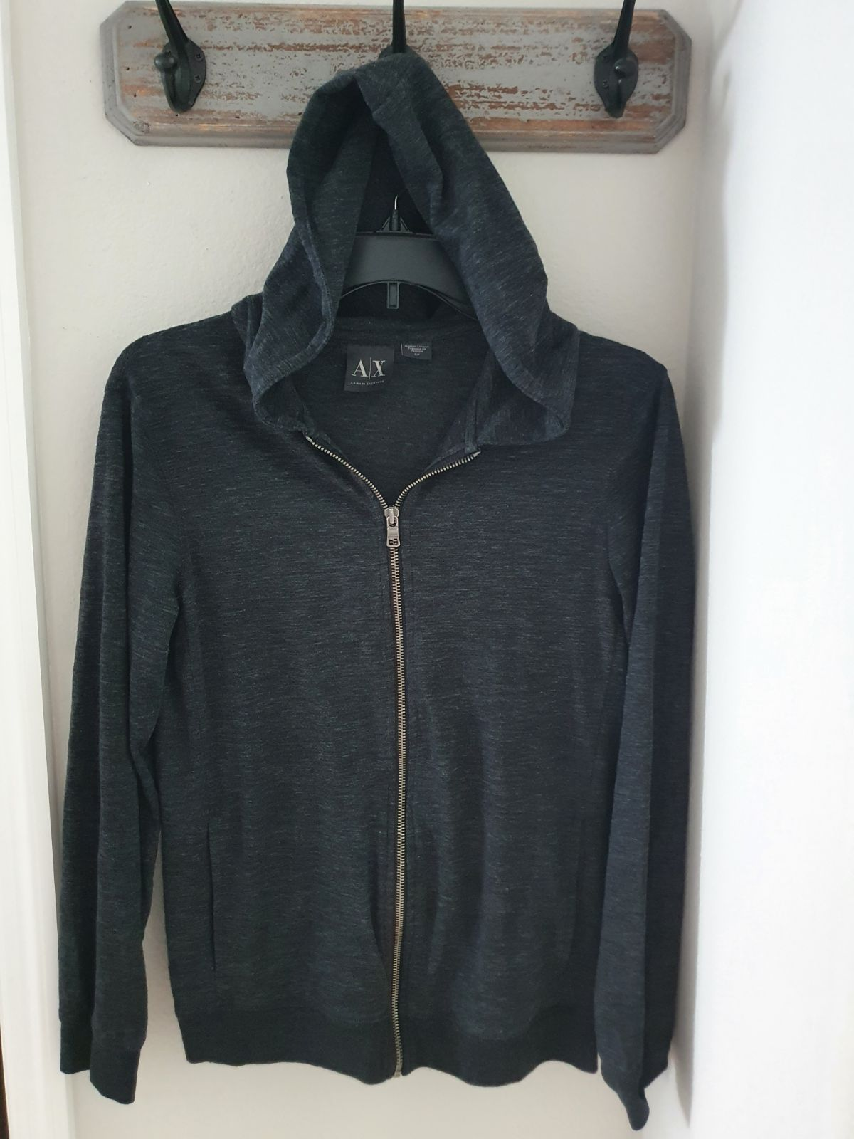 Armani Exchange Hooded Light Jacket Smal