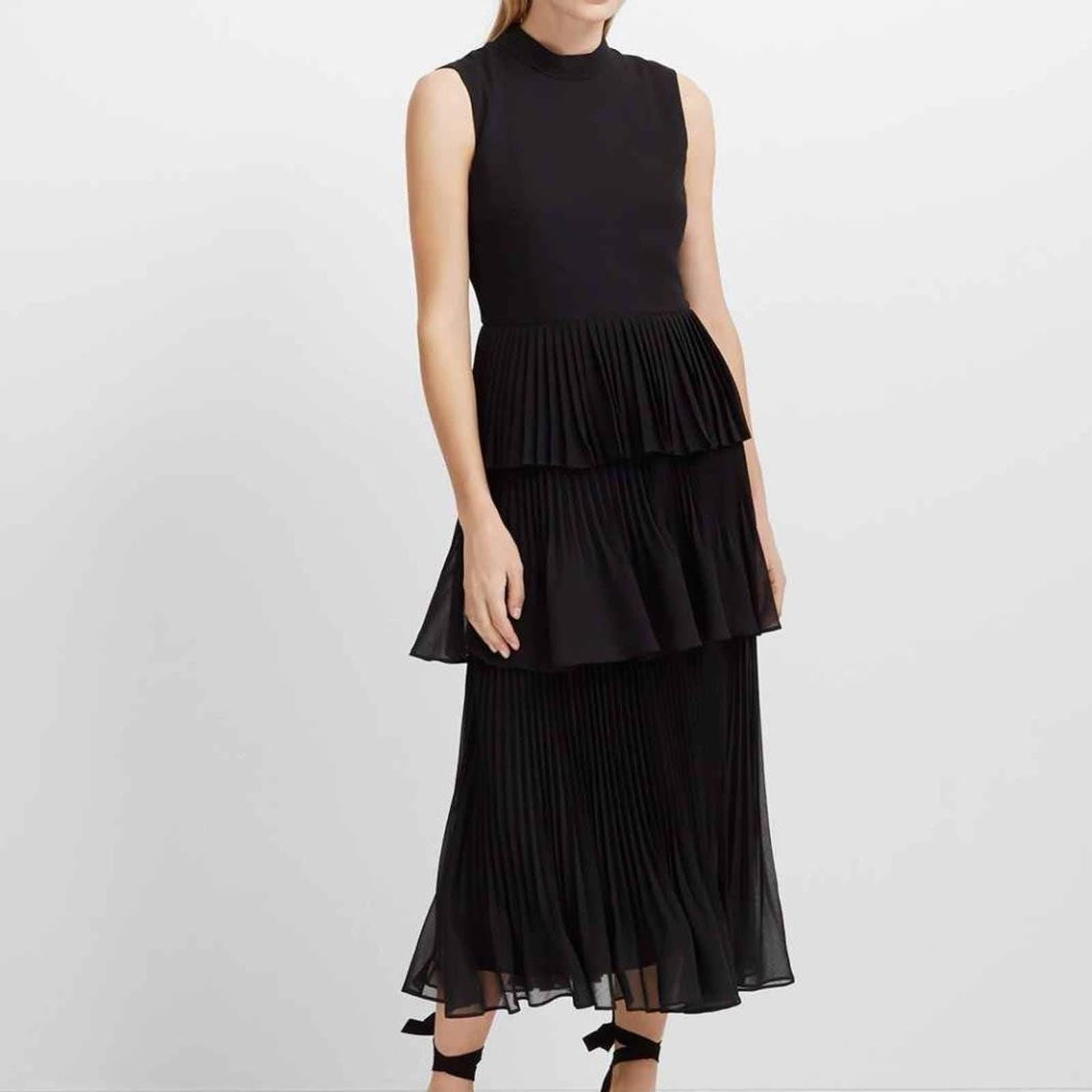 Club Monao Jubileeza Black Dress Sz 10