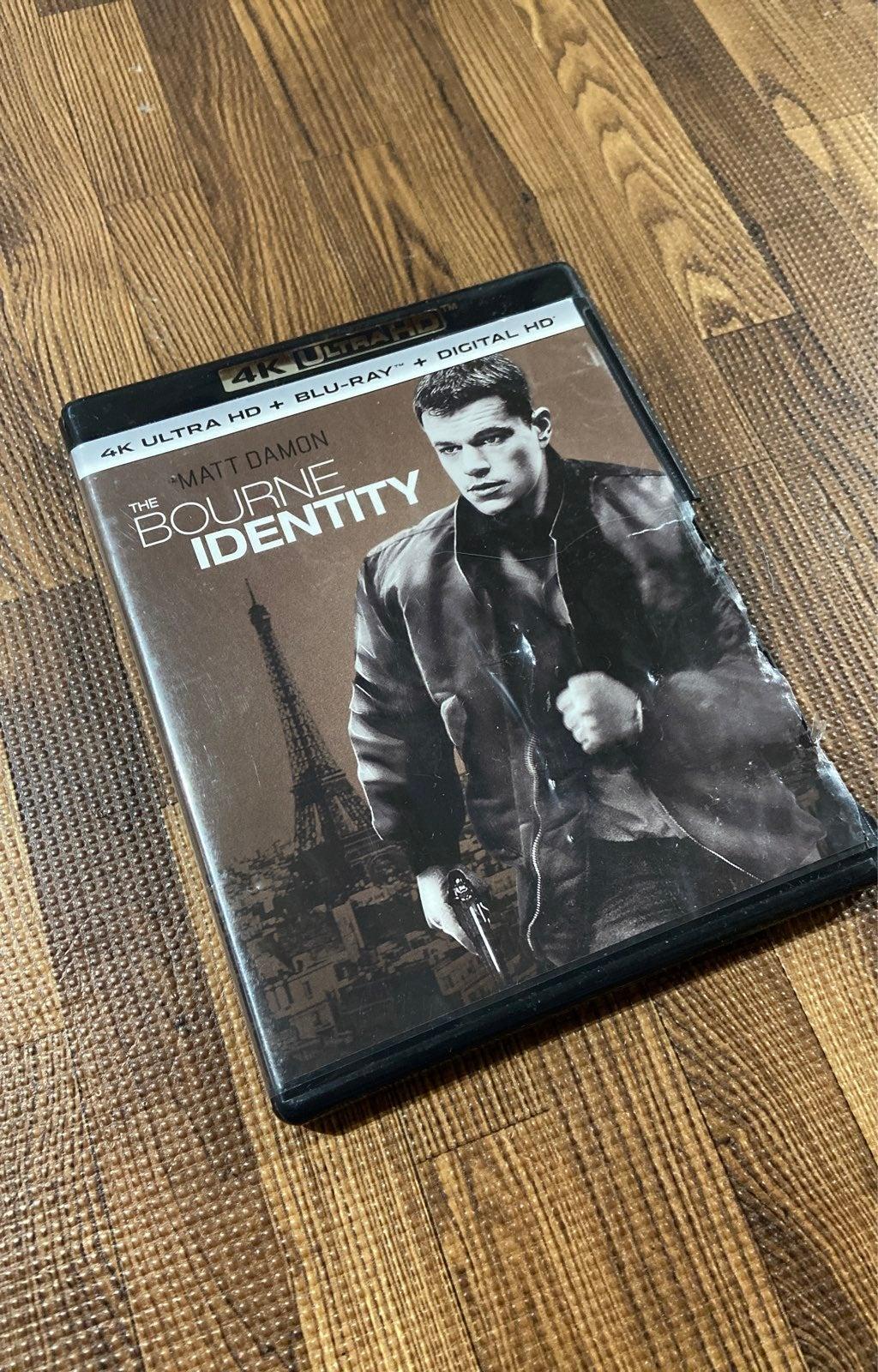The Bourne Idendity 4K Ultra HD BluRay