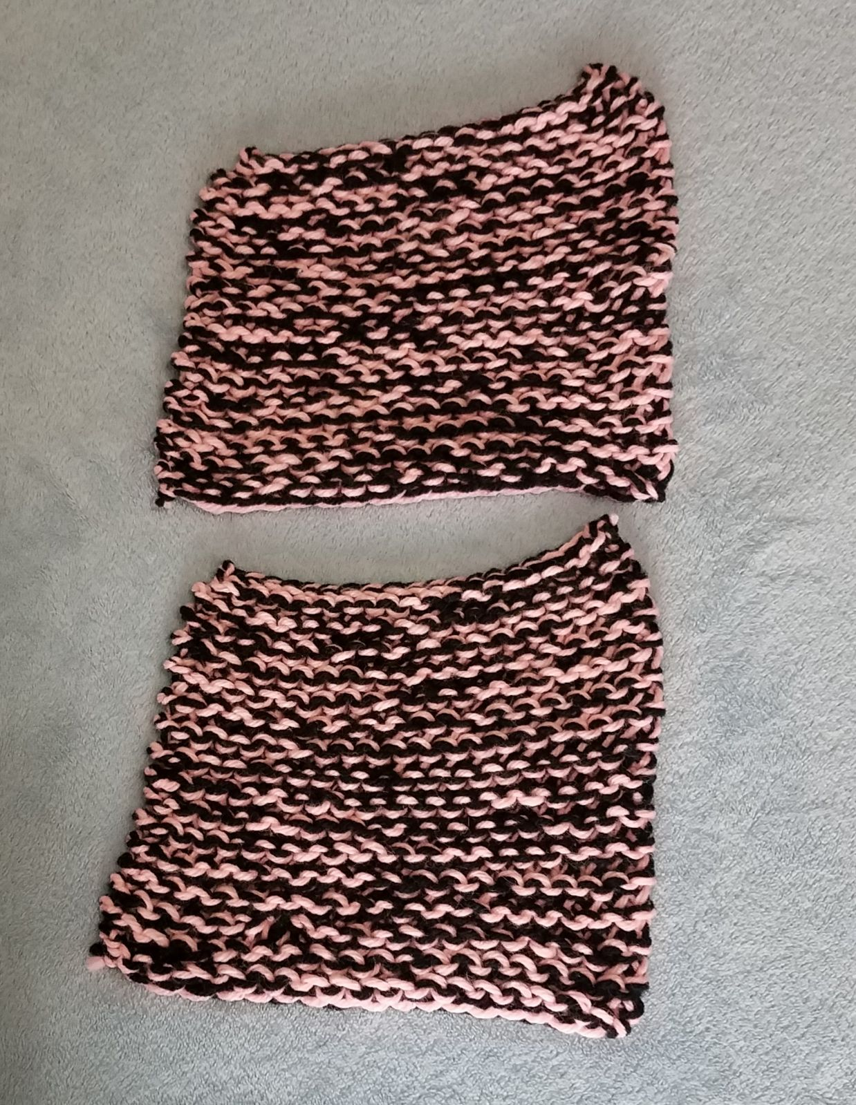 Handmade Dish Cloth Bundle Black Pink