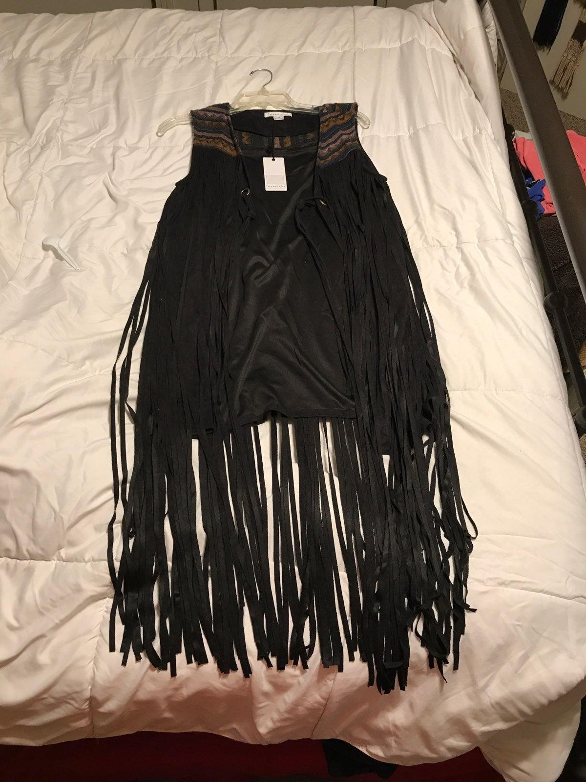 Boutique Fringe Vest