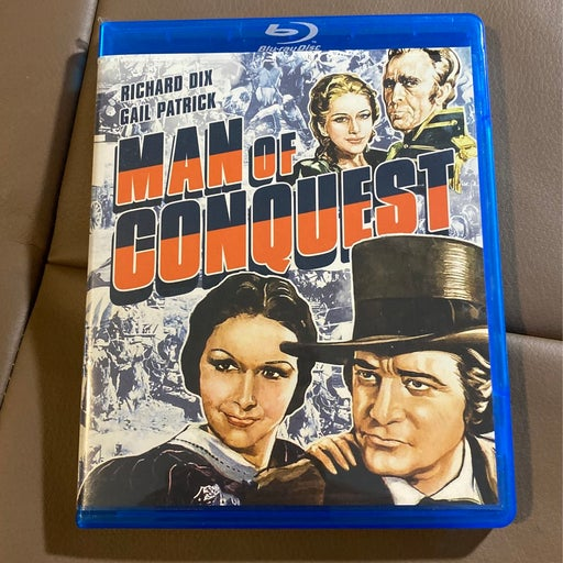 Man of conquest bluray 1939