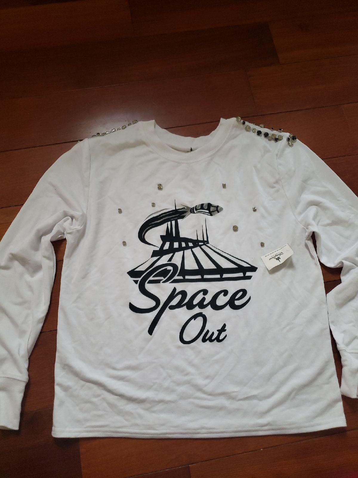 Disneyland space mountain shirt M