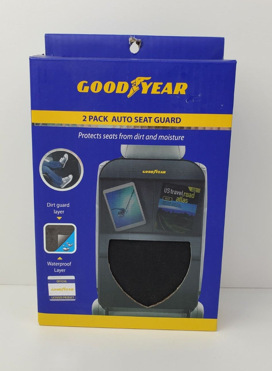 Goodyear Autoseat Guard Two Pack Black