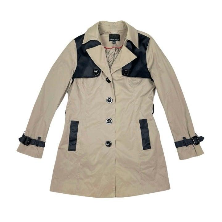 Cynthia Rowley Womens Rain Jacket Small