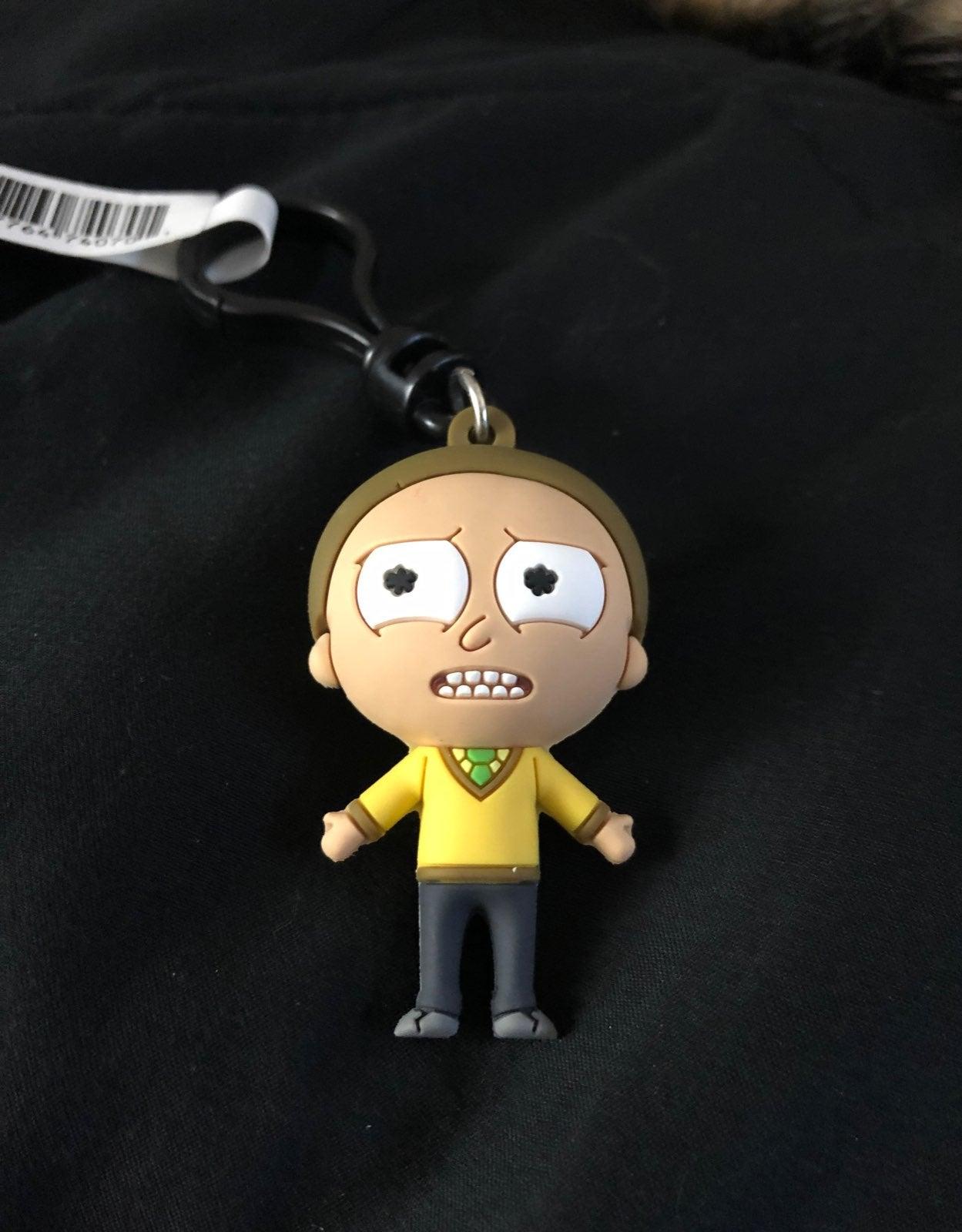 Rick and Morty Collectors Bag Clip