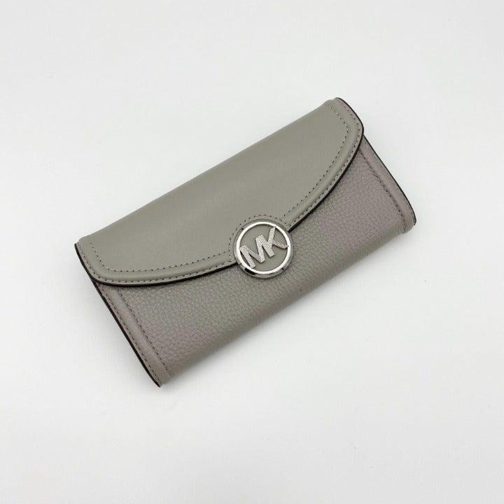 Michael Kors Pearl Grey Fulton Wallet