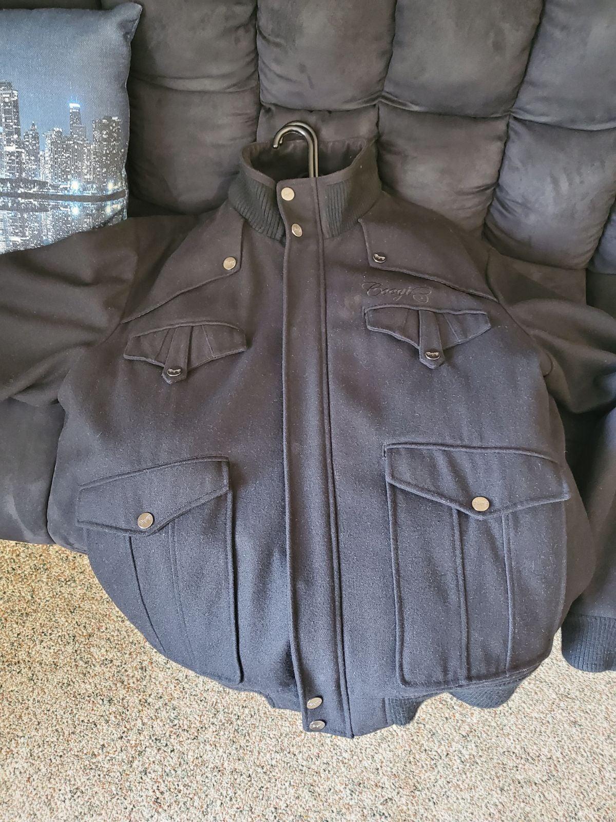 Coogi varsity coat