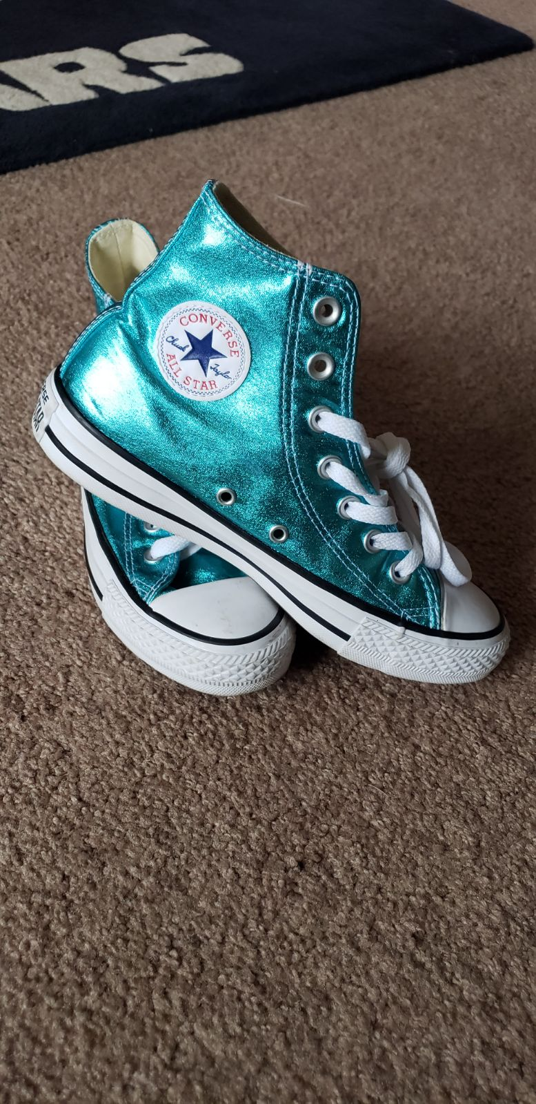 Converse shoes Metallic size 6 women's