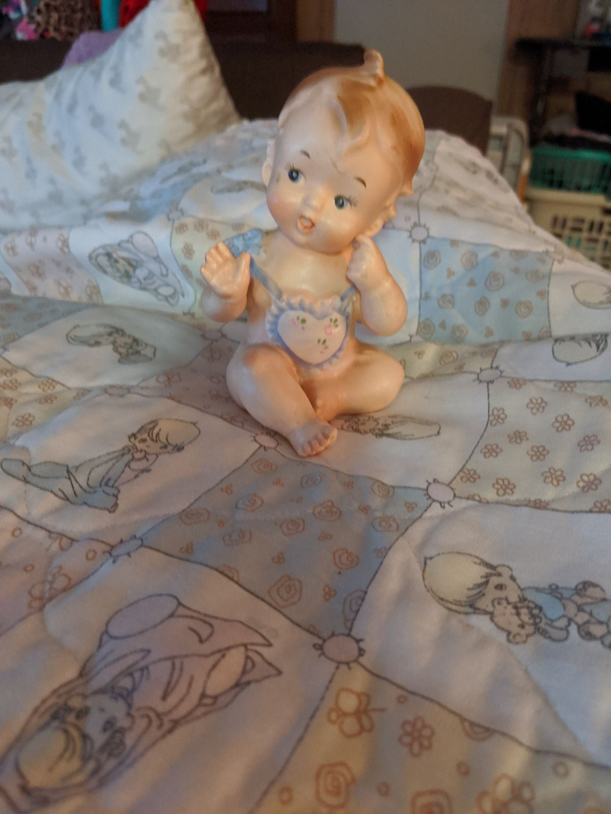 Vintage Inarco porcelain baby doll