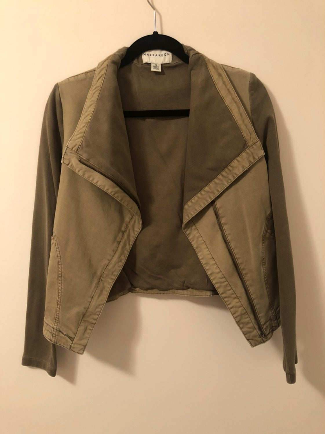 Marrakech Womens Olive Light Jacket