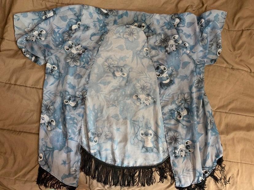 Stitch kimono