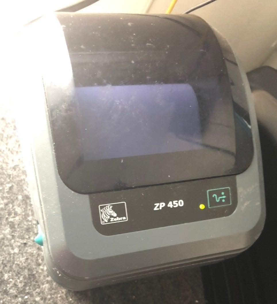 Termal printer Zebra zp 450