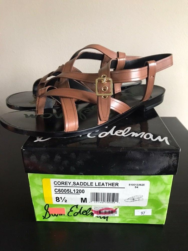 Sam Edelman Corey Saddle Leather Sandal
