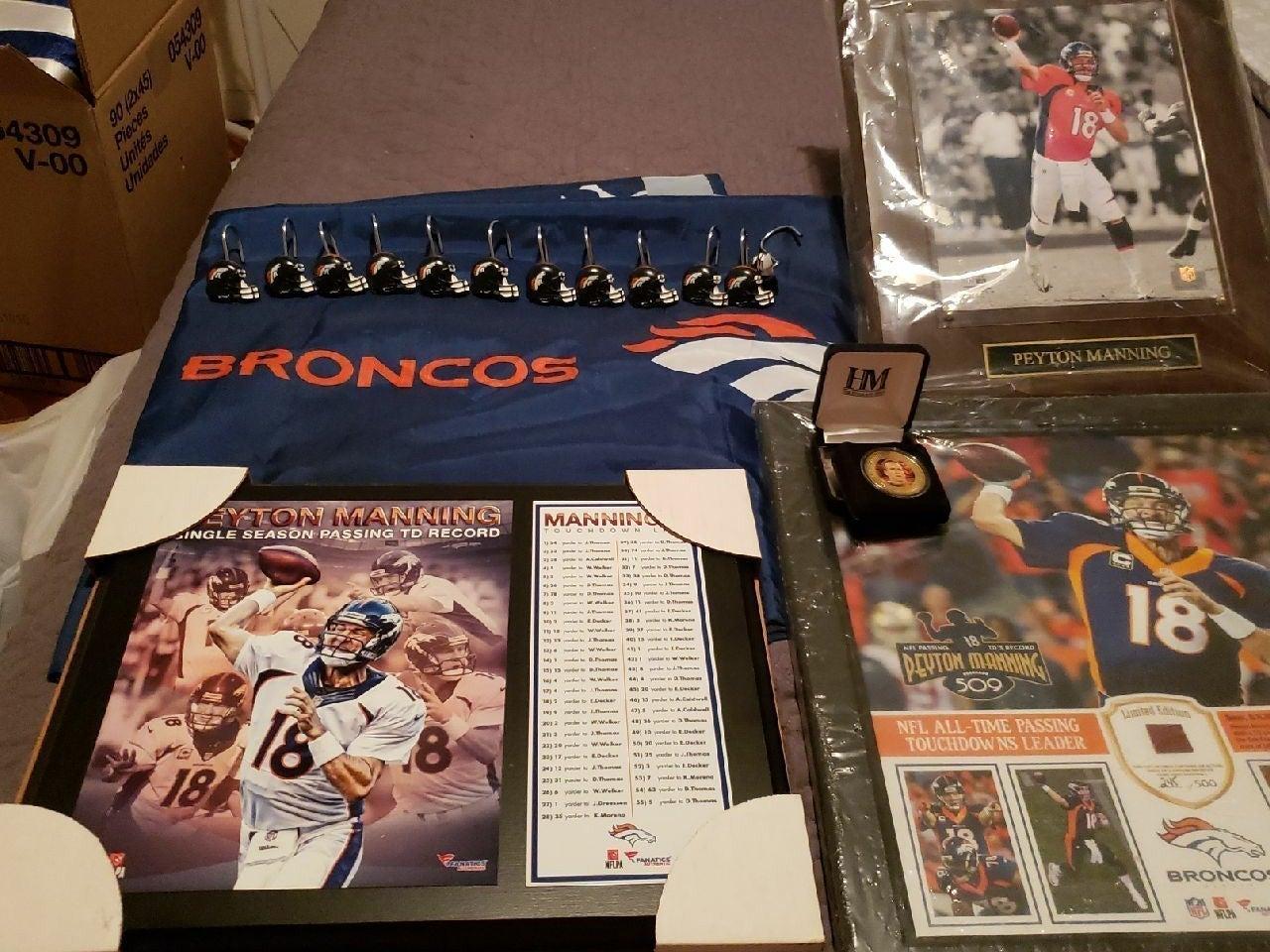 Bundle Peton Manning,Broncos collection
