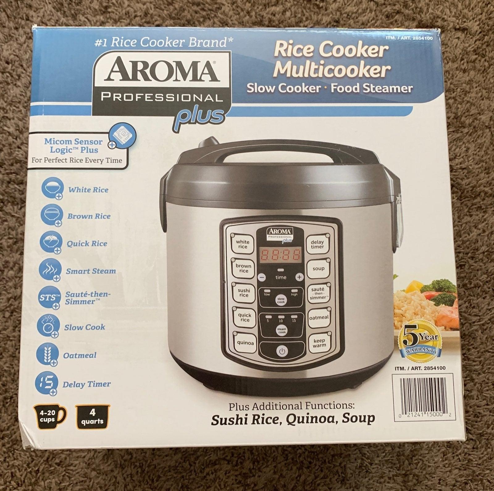 Aroma Professional Plus Rice Cooker Mult