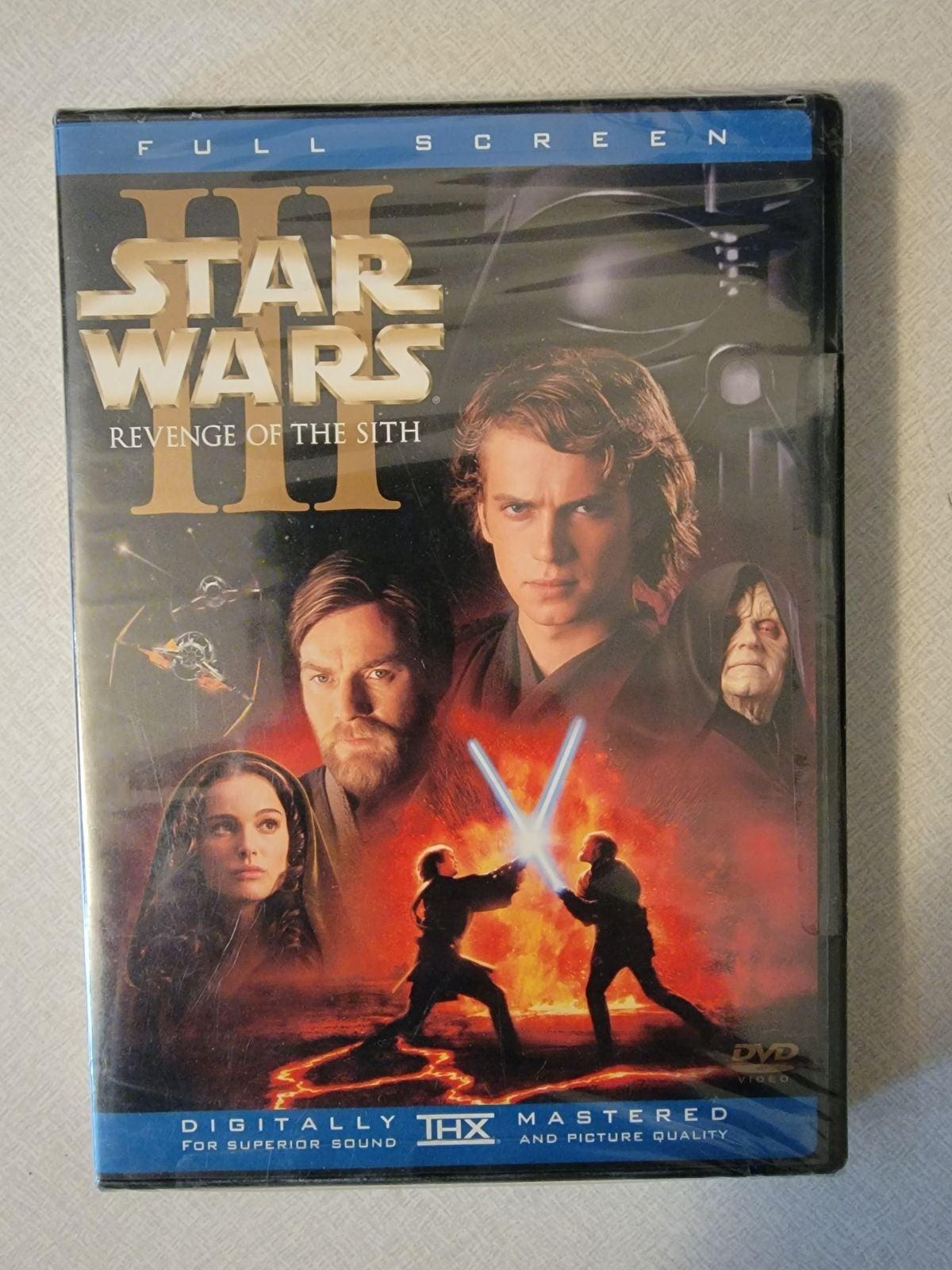 Star Wars Episode III DVD - Brand New