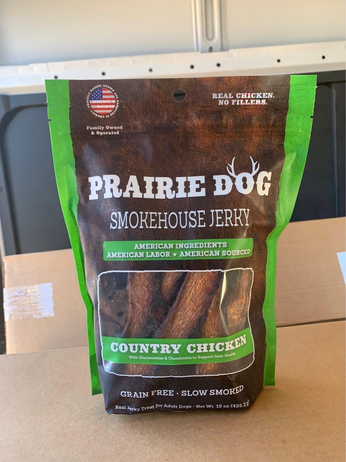Prairie dog smokehouse jerky